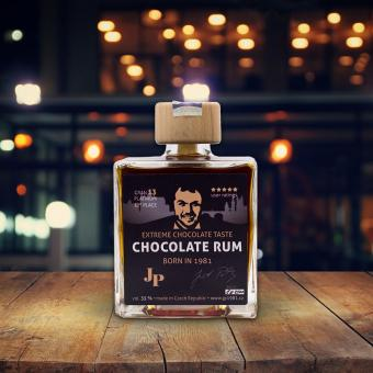JP extreme chocolate rum 0.25l